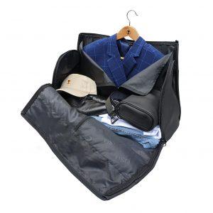 suit bag open side